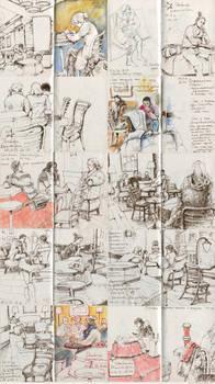 Sketches 20. Starbucks.