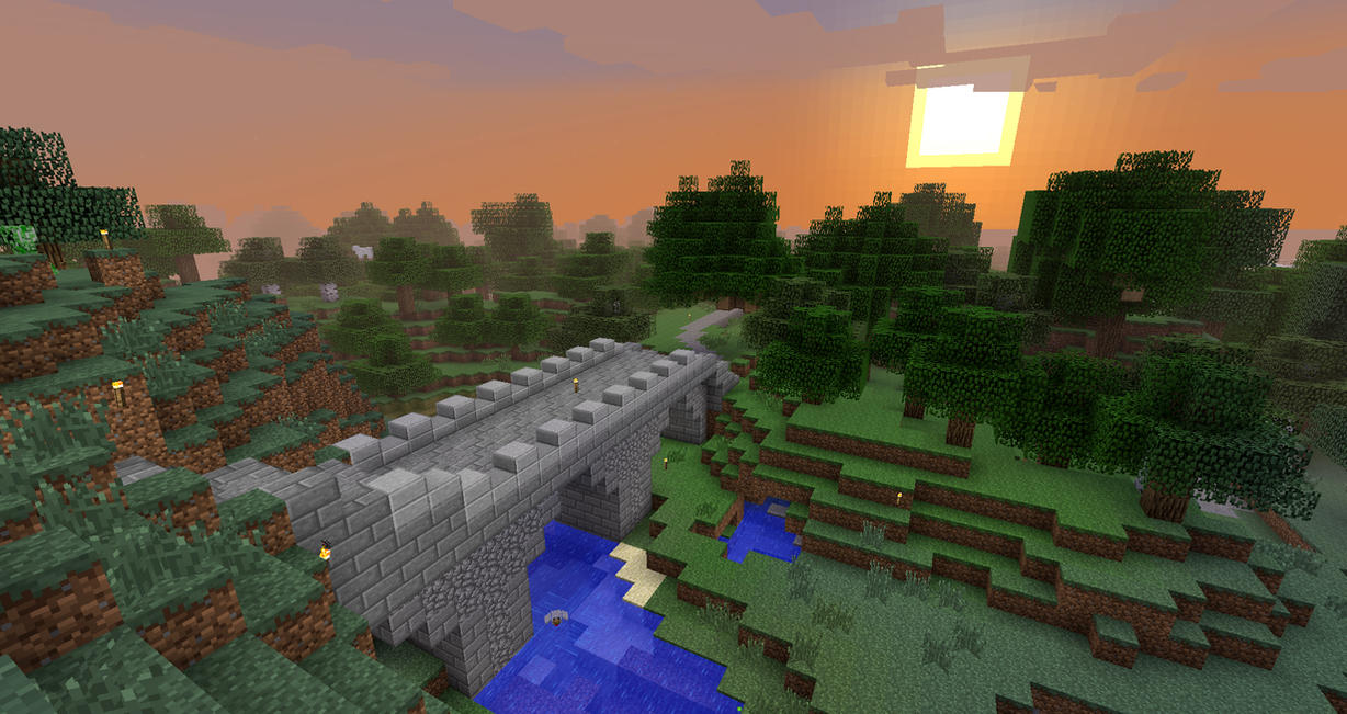 Download Wallpaper Minecraft Scenery - minecraft_scenery_wallpaper_by_zoroo-d5t2585  Best Photo Reference_174313.jpg