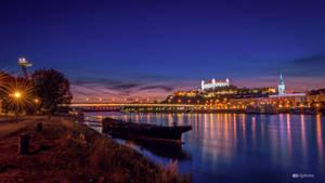 Evening in Bratislava