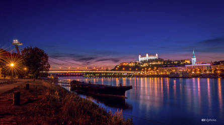 Evening in Bratislava by Zoroo