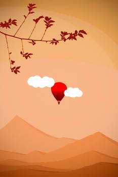 Orange World from Red Balloon
