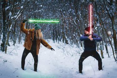 Star Wars Ep.9 - Hanka vs Marek by Zoroo