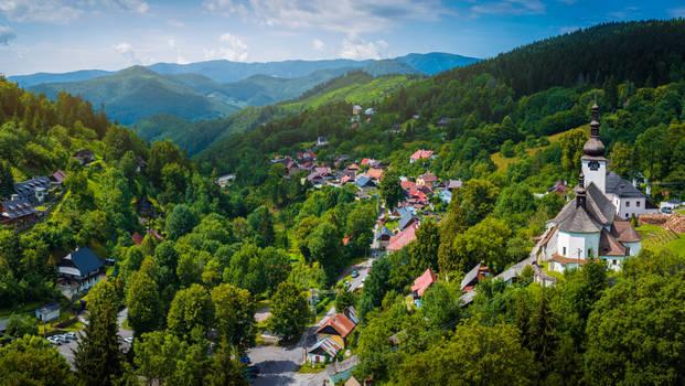 Panorama of Spania Dolina