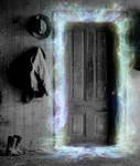 What lies Beyond the door by JadePixi