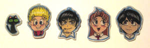 Trigun Shrinky Dinks... XD