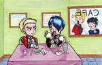 Knives And Legato's Messed Up Dinner Date