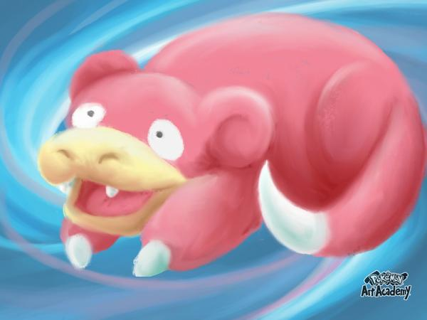 slowpoke by katiewhy
