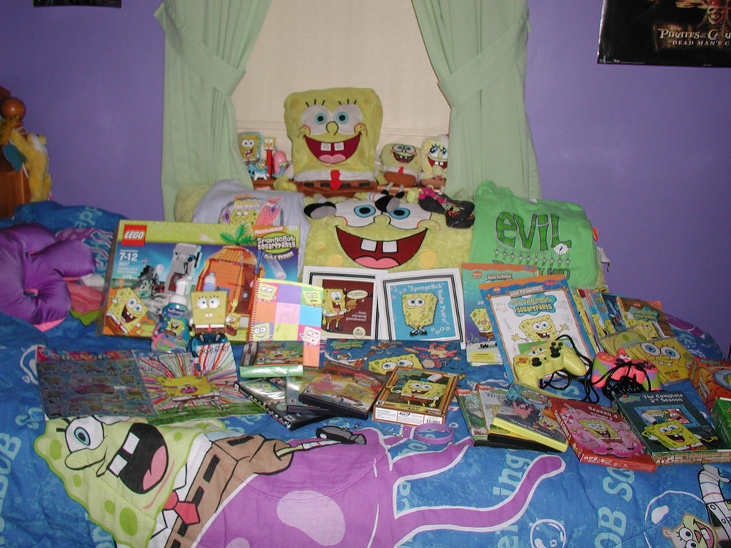 Do You Miss Any Of Your Misplaced Spongebob Merchandise