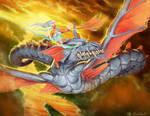 Female Dragon Rider
