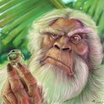 le grand singe blanc