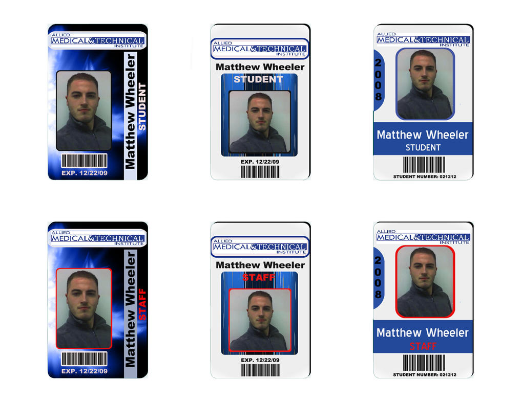 id badge design by monkeykingdesigns on deviantart