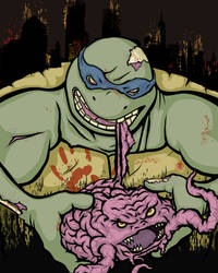 ...must eat krangs..... by MONKEYkingDESIGNS