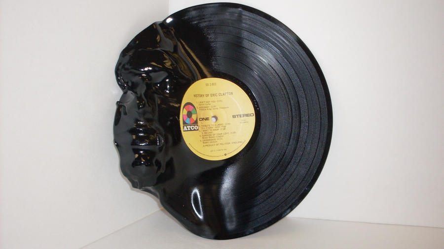 vinyl record face by MONKEYkingDESIGNS on DeviantArt