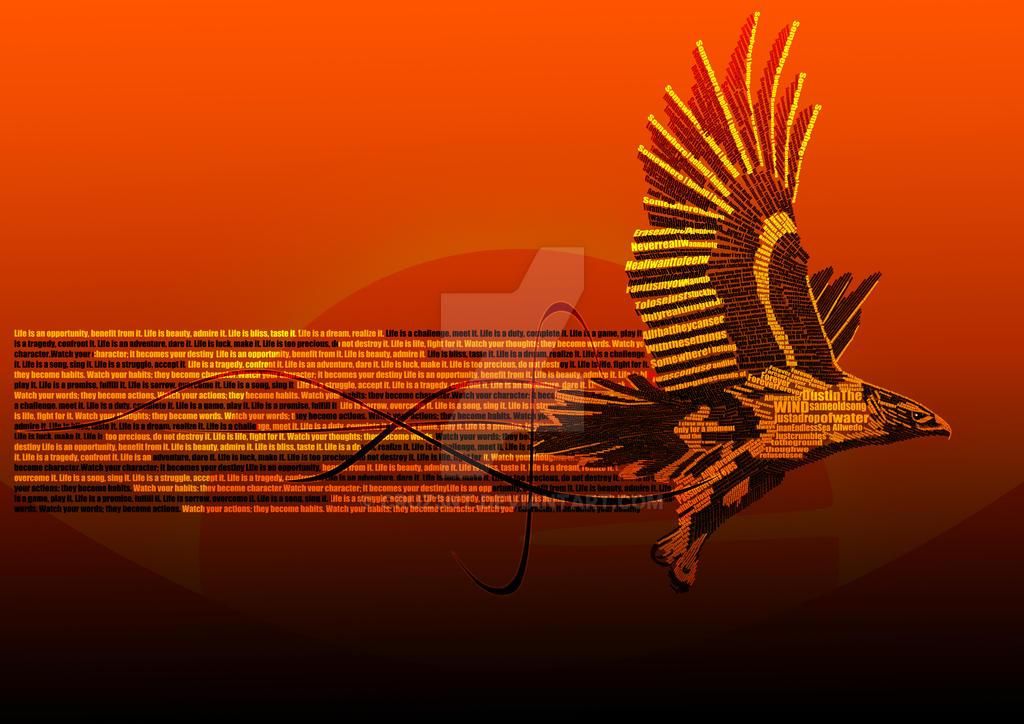 The Lyrical Hawk by cruz3nt