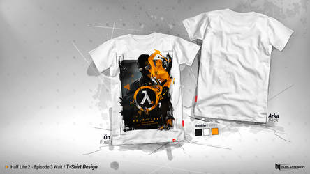 Half Life 3 / T-Shirt Design