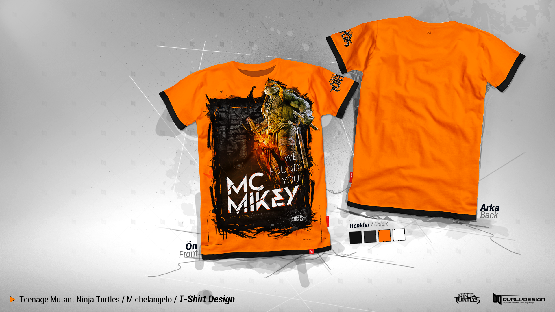Shirt design wallpaper - Durly0505 1 0 Ninja Turtles Michelangelo T Shirt Design By Durly0505