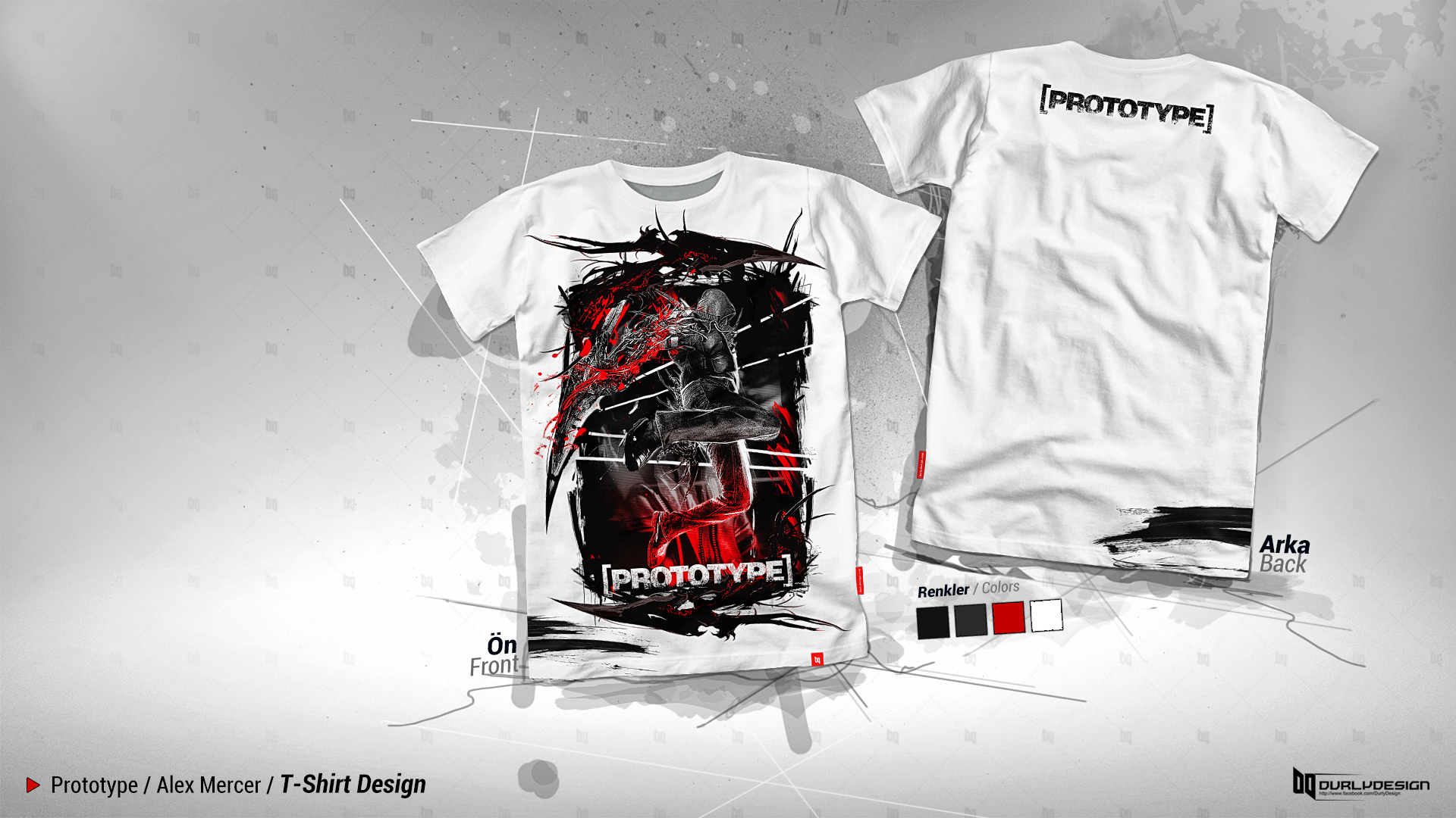 Prototype Alex Mercer T Shirt Design By Durly0505 On