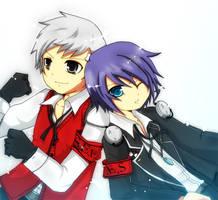 Persona 3 - _end of battle_ by graff-eisen