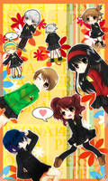 Persona 4 - We all love skirts by graff-eisen