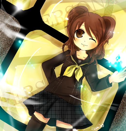Persona 4 - Risette by graff-eisen