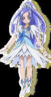 Cure Diamond [DokiDoki PreCure Render]