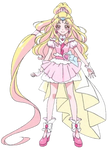 Cure Tomorrow (HUGtto PreCure Render)