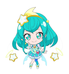 Chibi Cure Milky [Star Twinkle PreCure Render] by FFPreCureSpain