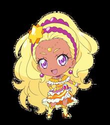 Chibi Cure Soleil [Star Twinkle PreCure Render] by FFPreCureSpain