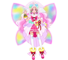 Cure Yell Mother Heart Style [PreCure Render] by FFPreCureSpain