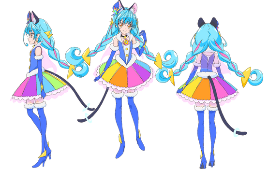 Cure Cosmo Profile [PreCure Render] by FFPreCureSpain
