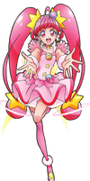 Cure Star (Star Twinkle PreCure Render]