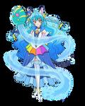 Aquarius Cure Cosmo [Precure Render]