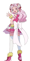 Cure Yell [HUGtto Precure Render]