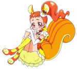 Cure Custard [KiraKira Precure Render]