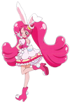 Cure Whip [KiraKira Precure Render]
