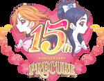 Precure 15th Anniversary Logo