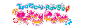 Tropical-Rouge! Precure Logo (ENG)