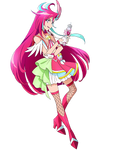 Cure Flamingo [Tropical-Rouge! Render]