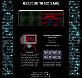 * Free * Cyberpunk Code by UrsidaeAngeni