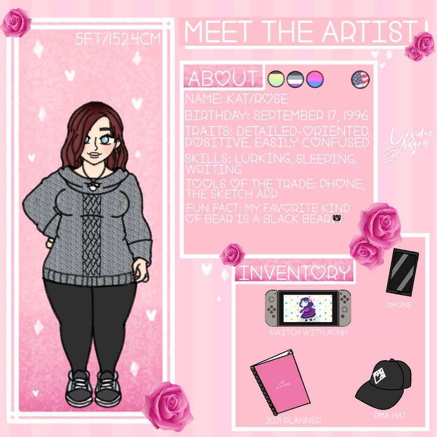 Meet the artist - 2021