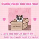 Think inside the box - YCH - Cheap/discounted slot