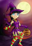Trick or treating Trixie Tang