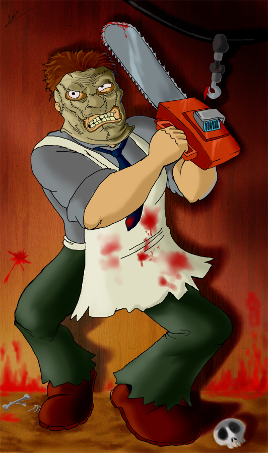 leatherface wallpapers. Leatherface by ~OzzKrol on deviantART