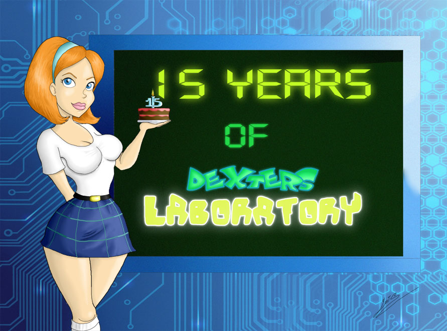 15 years of Dexter's lab by OzzKrol