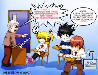 Death Note Gakuen Error by aubs-nin