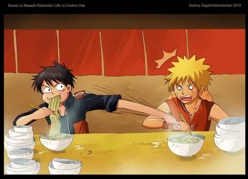 صور ون بيس - ناروتو - دراغن بول (معا) Luffy_vs__Naruto_by_Aubsneechan.jpg