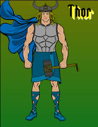 Thor by Howlingatthemoon1968