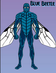 Blue Beetle by Howlingatthemoon1968