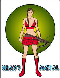 Heavy Metal by Howlingatthemoon1968