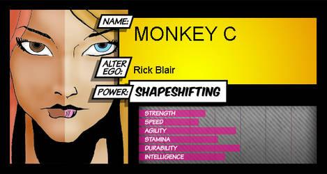 MonkeyC by Howlingatthemoon1968